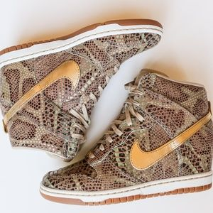 official photos d878c 18864 Nike Shoes - Nike Dunk Sky Hi Year of the Snake QS Deadstock